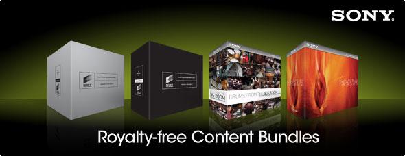 Royalty-Free Content Bundles