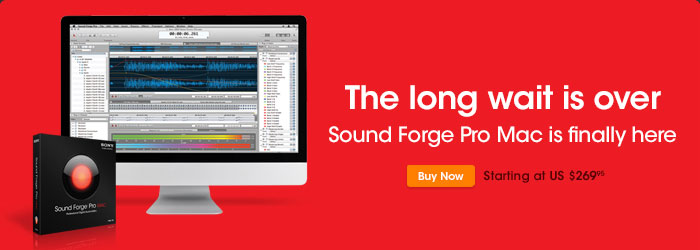 State-of-the-Art Professional Audio Editing Software for Desktop Computers