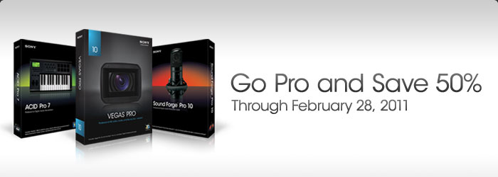 Go Pro and Save 50%