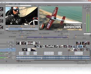 Vegas Pro 10 Screenshot