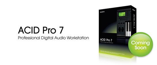 Sony annuncia ACID PRO 7