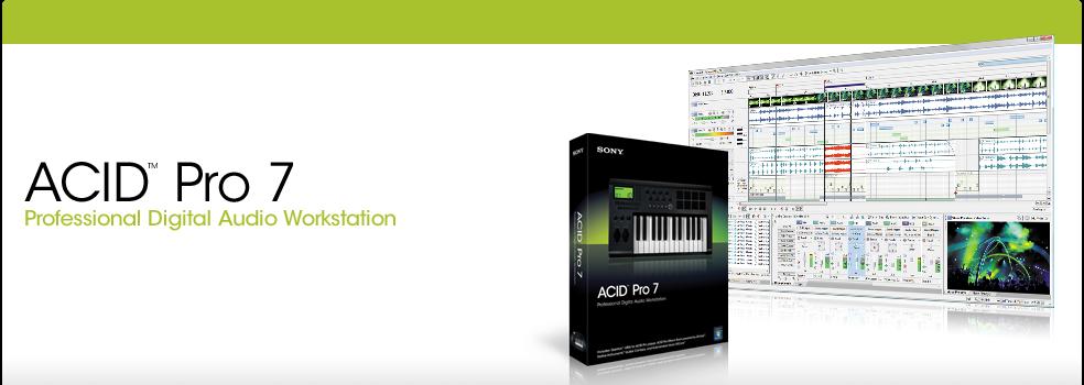 Sony Acid Pro 7 [ENG] + KeyGen
