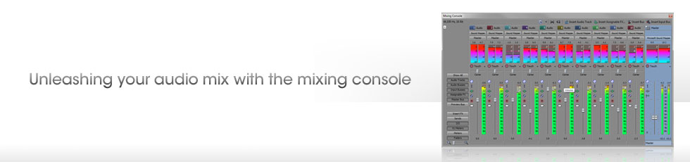 Webinar: Unleashing your audio mix with the mixing console