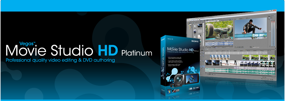 Sony Vegas Movie Studio HD Platinum v10.0 Build 179
