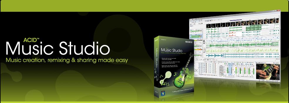Sony ACID Music Studio 90 Build 32 Multilanguage ChingLiu