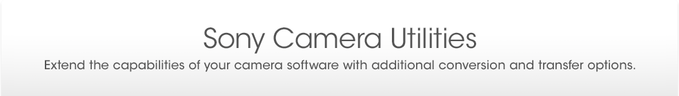Support - Sony Camera Utilities