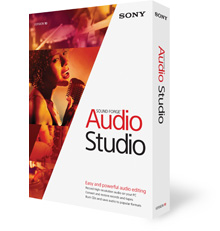 Upgrade to Sound Forge Audio Studio 10
