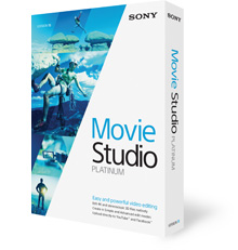 アップグレード Movie Studio 13 Platinum