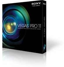Sony Vega Pro 11  version 510/511