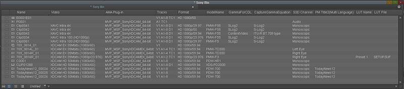 Sony Creative Software - XAVC/XDCAM Plug-in for Avid (PDZK-MA2)