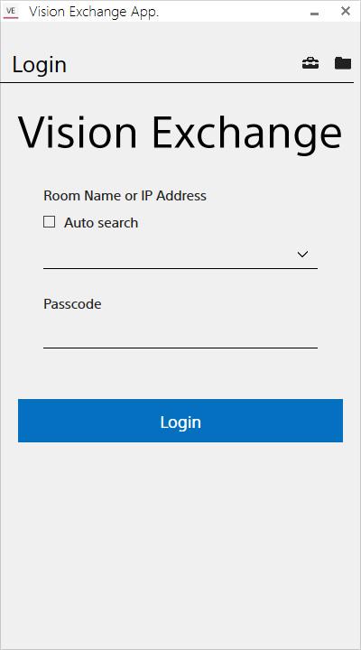 Sony Creative Software - Vision Exchange App