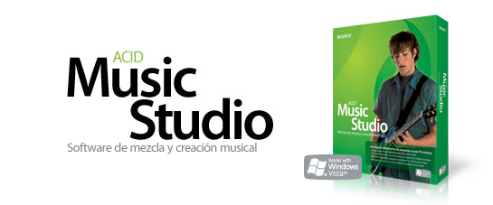 Фото 'Sony ACID Music Studio 7' .