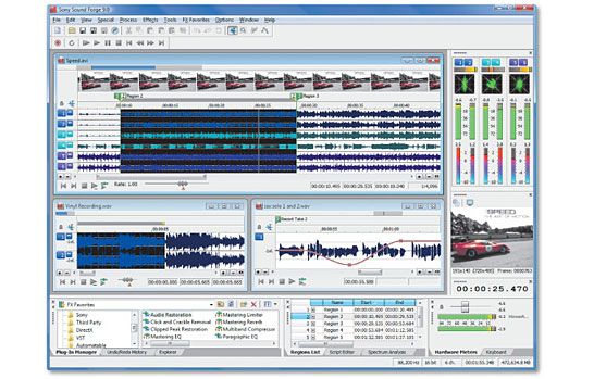 Sound Forge 9 0 Fr ( Net) preview 0
