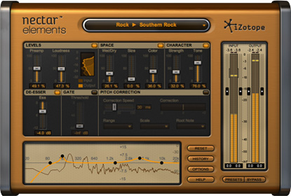 Nectar Elements powered by iZotope