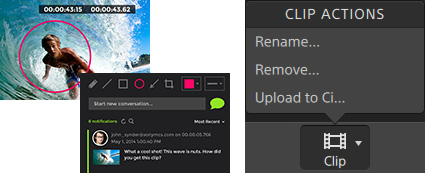 Upload to Ci Workspace by Sony