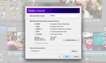 Software to make movies from photos free download