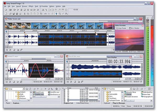 скачать sony sound forge 9.0 бесплатно