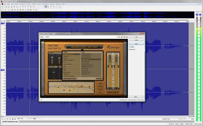 Sound Forge Pro full screenshot