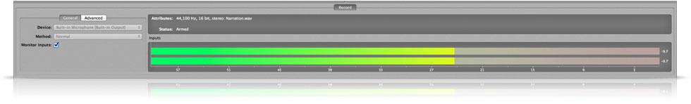 High-Fidelity Recording