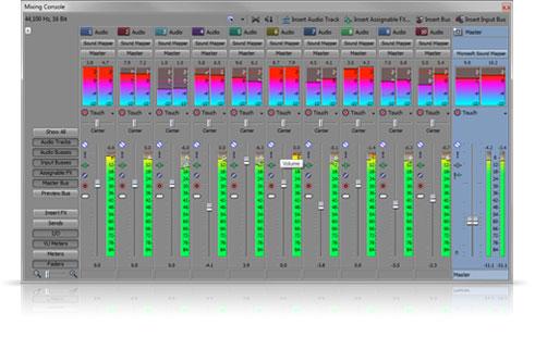 vegas audio editing