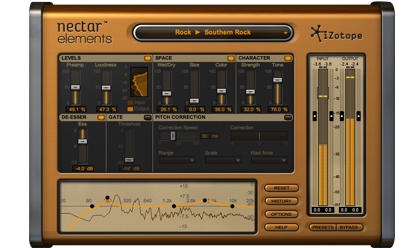 New! iZotope Nectar Elements