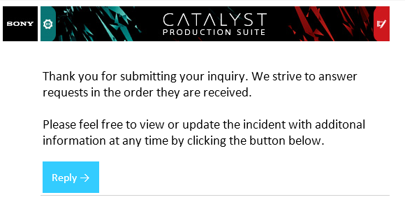 Creating and submitting a support request